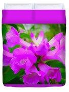 Trumpet Flower 1 Duvet Cover