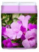 Trumpet Flower 10 Duvet Cover