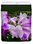 Trumpet Flower 11 Duvet Cover