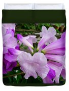 Trumpet Flower 11 Duvet Cover