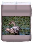 Trumpeter Swan Foot Wave Duvet Cover