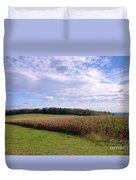Trusting Harvest Duvet Cover