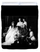 Tsar Nicholas II And His Family - 1913 Duvet Cover