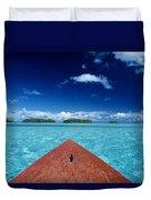 Tuamotu Islands, Raiatea Duvet Cover