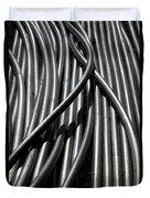 Tubular Abstract Art Number 13 Duvet Cover