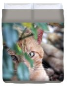 Tucker - The Cat Duvet Cover