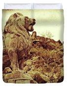 Tucson Lion Duvet Cover