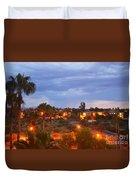 Tucson Skies Duvet Cover