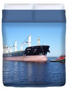 Tug And Saltie Duvet Cover