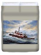 Tugboat Earnest Duvet Cover