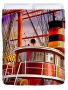 Tugboat Helen Mcallister Duvet Cover