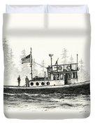 Tugboat Henrietta Foss Duvet Cover