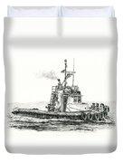 Tugboat Kelly Foss Duvet Cover