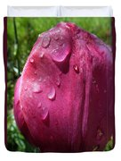 Tulip After The Rain Duvet Cover