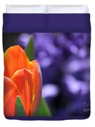 Tulip And Hyacinth Duvet Cover