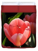 Tulip And The Crane Fly Duvet Cover