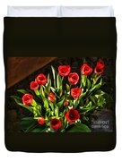 Tulip Beauties Duvet Cover