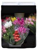 Tulip Bouquets Duvet Cover