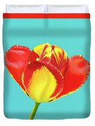 Tulip Burst Duvet Cover