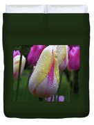 Tulip Close-up 2 Duvet Cover