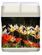 Tulip Field 11 Duvet Cover