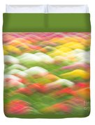 Tulip Field Abstract - Holland Michigan Duvet Cover