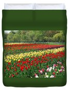 Tulip Fields Duvet Cover