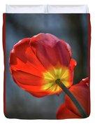 Tulip From Below Duvet Cover