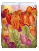 Tulip Glory Duvet Cover