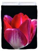 Tulip In Profile. Duvet Cover