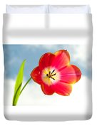 Tulip In The Sky Duvet Cover