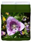 Tulip Lavender Duvet Cover
