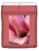 Tulip Magnolia Blossom Duvet Cover by Kathy Yates