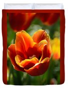 Tulip On Fire Duvet Cover