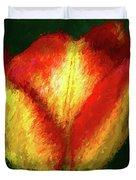 Tulip Painting Duvet Cover