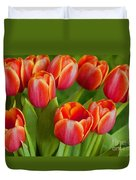 Tulip Patch Duvet Cover
