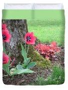 Tulip Poppie Duvet Cover
