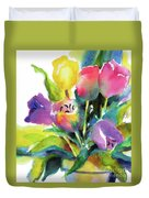 Tulip Pot Duvet Cover
