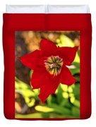 Tulip Star Duvet Cover