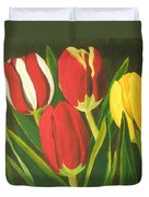 Tulip Time Duvet Cover