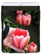 Tulip Town 15 Duvet Cover