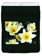 Tulip Town 16 Duvet Cover