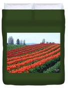 Tulip Town 18 Duvet Cover