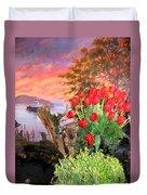 Tulip Town 19 Duvet Cover