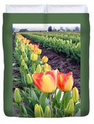 Tulip Town 6 Duvet Cover