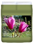 Tulip Tree Blossoms Duvet Cover
