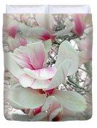 Tulip Tree Blossoms - Magnolia Liliiflora Duvet Cover