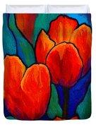 Tulip Trio Duvet Cover