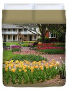 Tulips Abound Duvet Cover