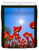Tulips At Ottawa Tulips Festival Duvet Cover